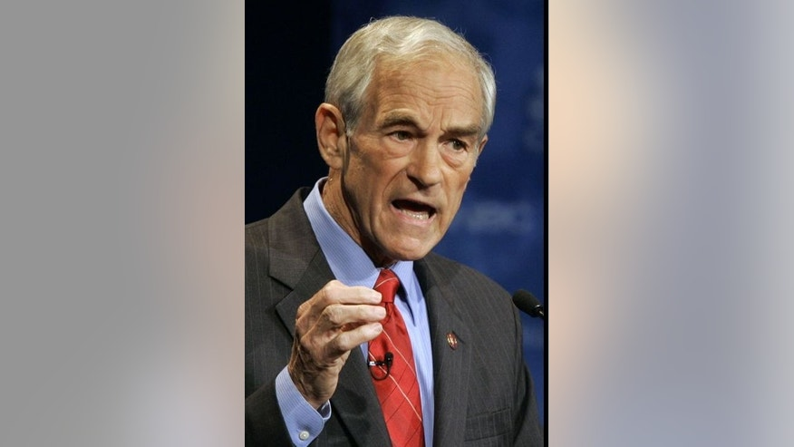 Rep. Ron Paul, R-Texas (AP File Photo)