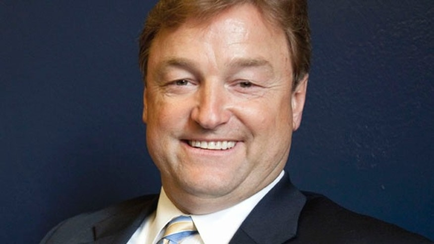 FILE: In this March 15, 2011 file photo, Rep. Dean Heller, R-Nev. is seen in his office on Capitol Hill in Washington. Nevada Gov. Brian Sandoval has named Heller to replace John Ensign in the U.S. Senate.