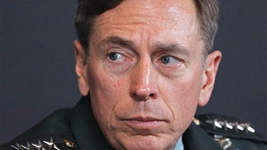 In this March 18 file photo, Gen. David Petraeus is seen in Washington.