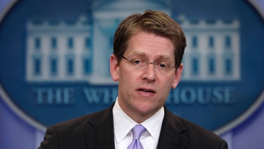 """It's fair to say that it's a gruesome photograph,"" White House Press Secretary Jay Carney said, shown here in the White House May 3rd."