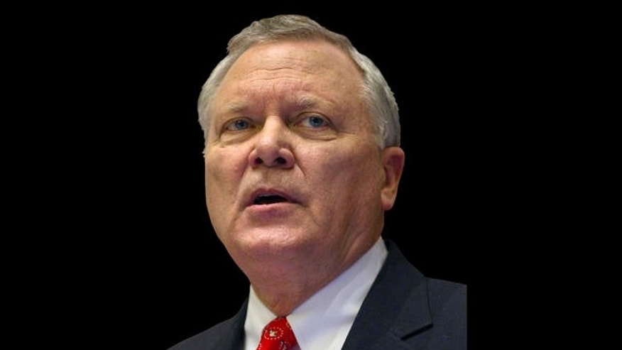 Georgia Gov. Nathan Deal delivers the State of the State address Wednesday, Jan. 12, 2011 in Atlanta. (AP Photo/David Goldman)