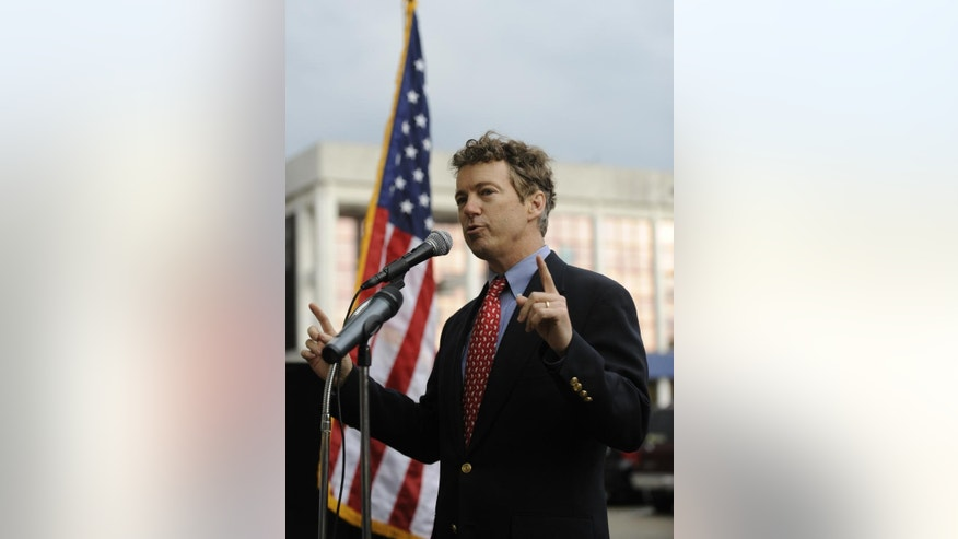 Sen. Rand Paul, R-Ky. (AP File Photo)