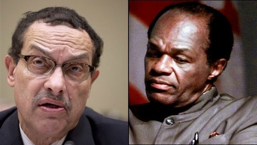 The corruption allegations that D.C. Mayor Vincent Gray (l) is facing have sparked fears that the nation's capital has returned to the Marion Barry era. (AP)