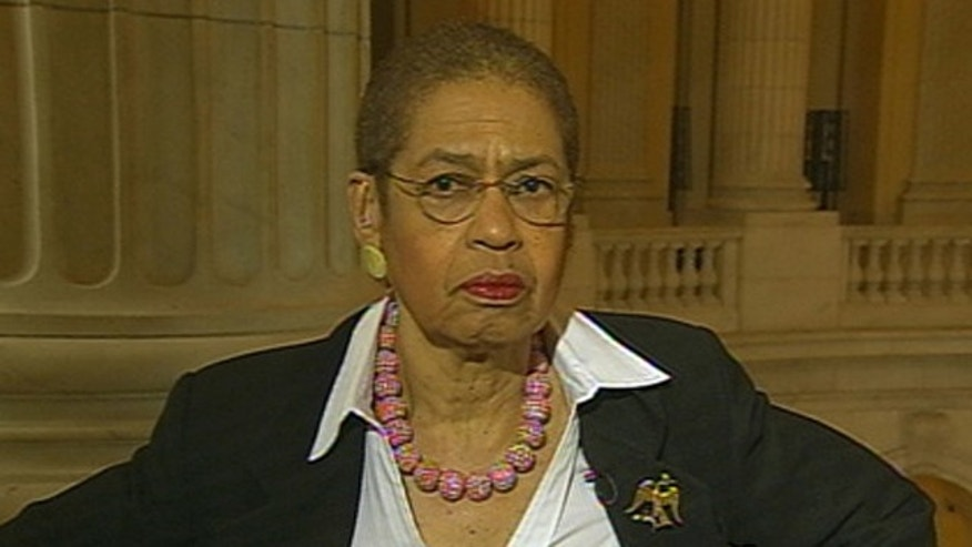 Shown here is D.C. Delegate Eleanor Holmes Norton.