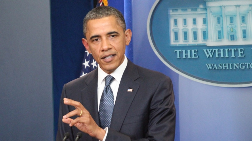 President Obama discusses the continuing budget talks July 19 in the briefing room of th White House.