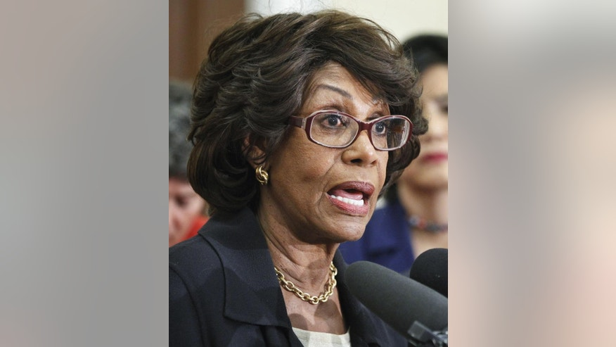 Rep. Maxine Waters, D-Calif.  (AP/File Photo)