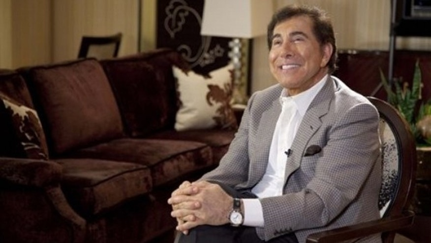 FILE: In this April 27, 2011, photo, Steve Wynn discusses his wedding to Andrea Hissom days before their wedding at the Wynn Las Vegas.