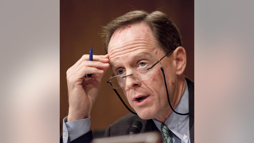 Sen. Pat Toomey, R-Pa.  (AP File Photo/Harry Hamburg)