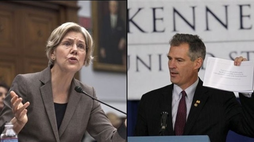 Two Republican female senators have rushed to the defense of Sen. Scott Brown, who infuriated women's groups by poking fun at rival Elizabeth Warren's physical appearance in response to her put-down of his nude photo shoot when he was a law student.