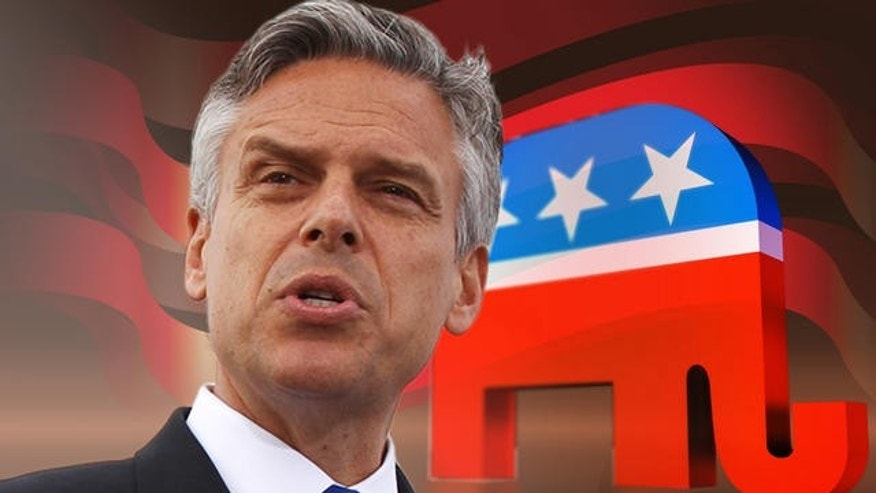Former Utah Gov. John Huntsman, a GOP presidential candidate, is hoping Latino support will strengthen his chances in the 2012 race.