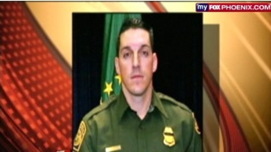 Border Patrol Agent Brian Terry was killed on Dec. 14, 2010. Weapons found at the scene were linked to Operation Fast and Furious, the ATF program that let guns be purchased illegally and cross the border. Several have now reportedly been tied to crimes in the U.S.