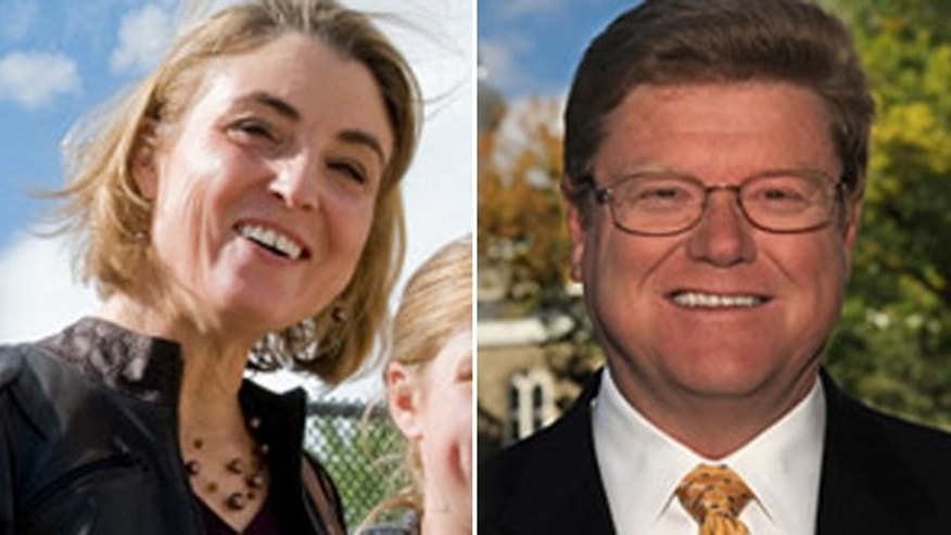 Democrat Kate Marshall and Republican Mark Amodei are competing in Nevada for the House seat vacated by Dean Heller, who was appointed to the U.S. Senate.