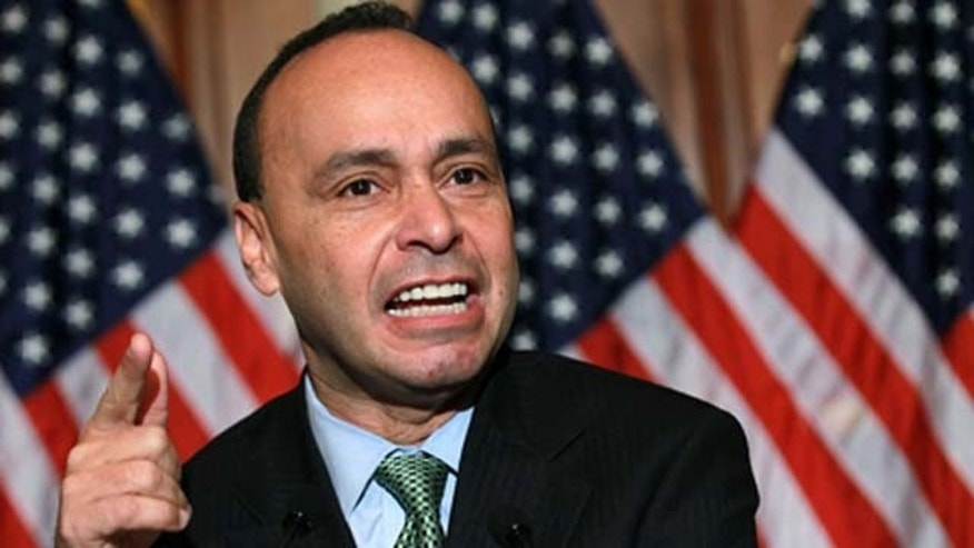 Dec. 08, 2010 : U.S. Rep. Luis Gutierrez (D-IL) speaks during a news conference on the Development, Relief and Education for Alien Minors Act, also known as DREAM Act, on Capitol Hill in Washington, DC.