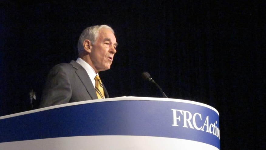 Ron Paul at Values Voter Summit/Fox News Photo