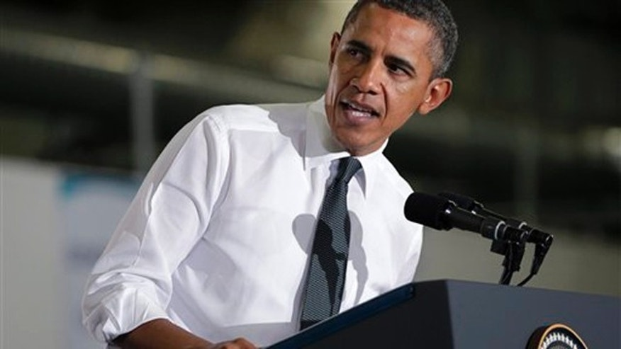 Friday: President Obama speaks at the General Motors Orion Assembly Plant in Lake Orion, Mich.