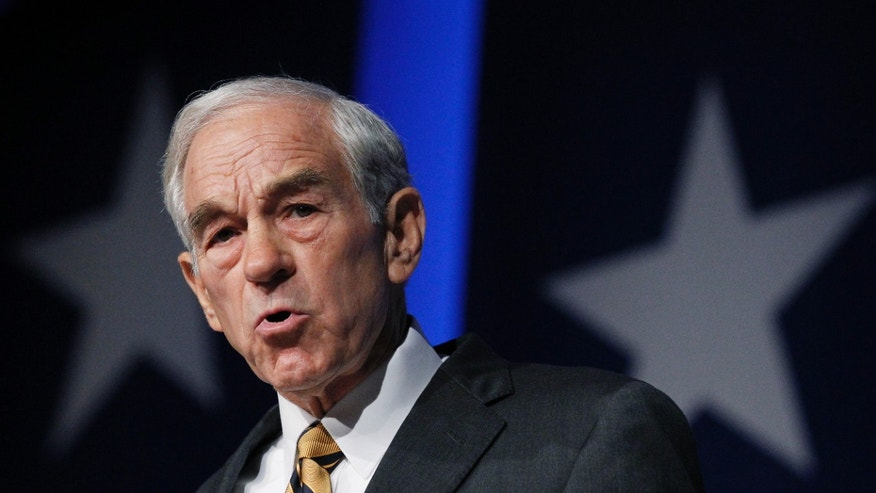 Oct. 8: Republican presidential candidate, Rep. Ron Paul, R-Texas, speaks at the Values Voter Summit in Washington.