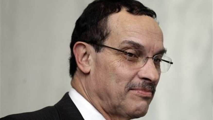 Washington D.C. Mayor Vincent Gray is pictured at a news conference on Capitol Hill in Washington Jan. 4.