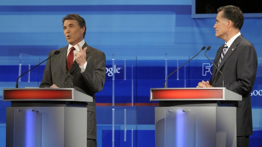 Fox News Debate/AP Photo