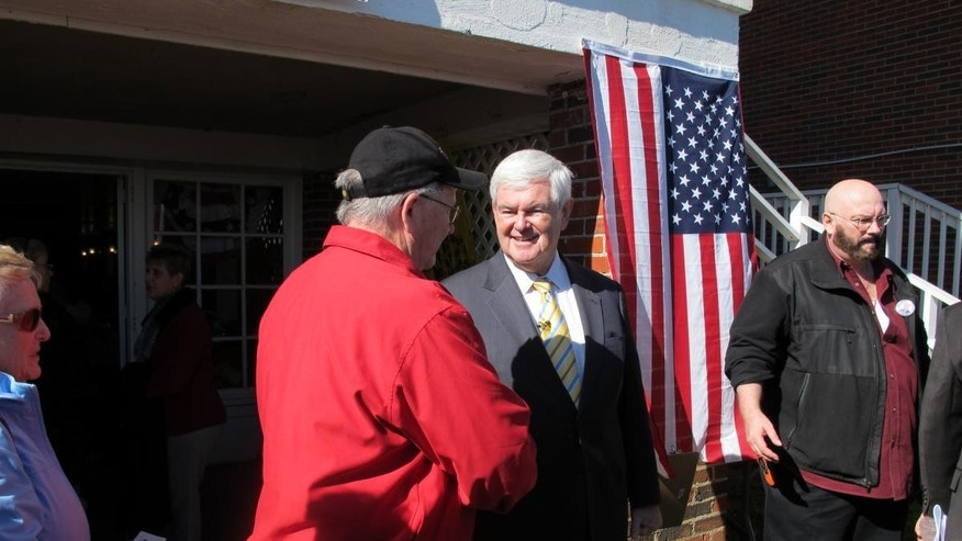 Newt Gingrich in Myrtle Beach. (10-29 / Fox Photo)