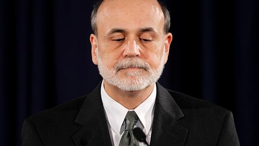 Nov. 2: Federal Reserve Chairman Ben Bernanke during his news conference on the Federal Open Market committee.