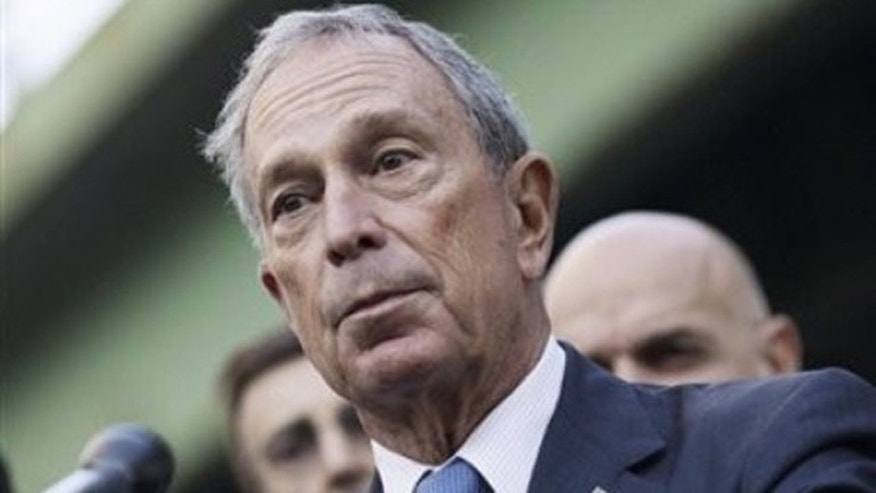 Oct. 3, 2011: New York City Mayor Michael Bloomberg speaks during a news conference in New York.
