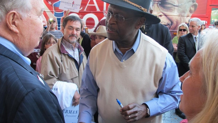 GOP Candidate Herman Cain/Fox News Photo