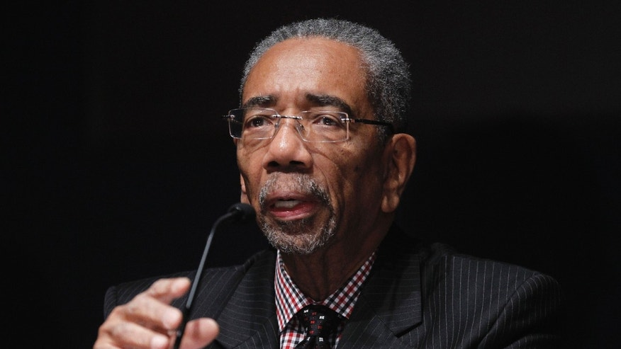 November 1: Rep. Bobby Rush, D-Ill., takes part in a congressional round-table on college sports, offering their perspectives on current state of NCAA athletics, on Capitol Hill in Washington.