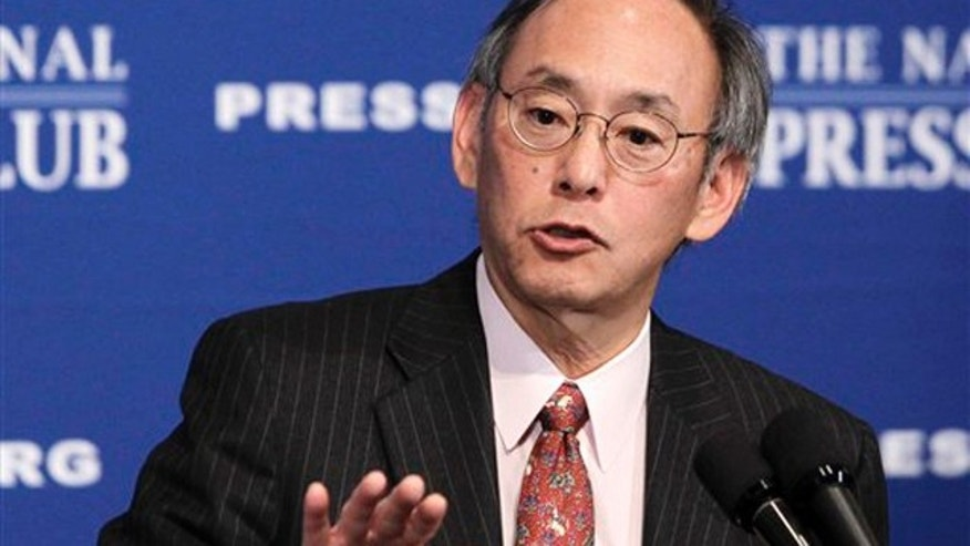 Nov. 29, 2010: Energy Secretary Steven Chu gives a speech at the National Press Club in Washington.