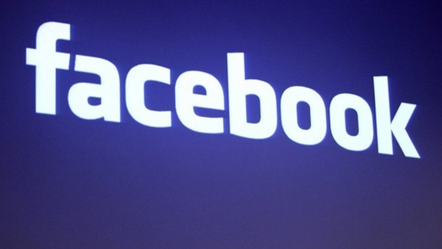 May 26, 2010: The Facebook logo is shown at Facebook headquarters in Palo Alto, Calif.