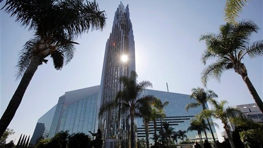 October 27, 2011: This photo shows the Crystal Cathedral in Garden Grove, Calif.