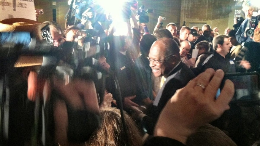 Herman Cain in New Hampshire Nov. 17 - FOX News