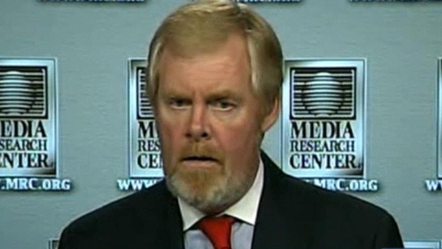 Shown here is Media Research Center founder Brent Bozell.