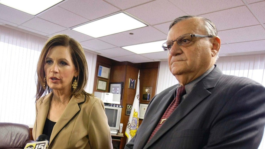Rep. Michele Bachmann, R-Minn., is just one of several Republican presidential candidates who courted Maricopa County Sheriff Arpaio, hoping for his endorsement.
