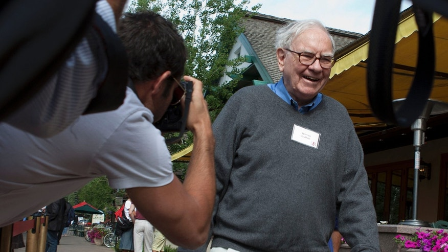 In this July 7, 2011 file photo, Berkshire Hathaway chairman and CEO Warren Buffett heads to lunch.