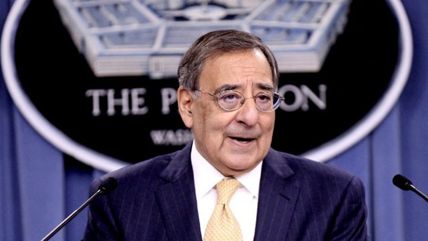 In this January 5, 2012 file photo, Defense Secretary Leon Panetta speaks at the Pentagon.