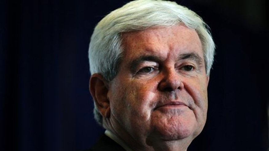 Jan. 26, 2012: Newt Gingrich speaks at the University of North Florida in Jacksonville, Fla.