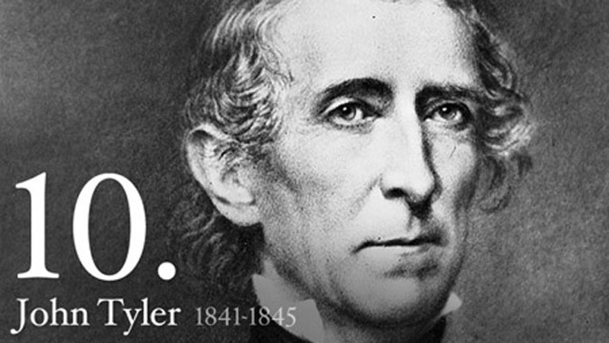 Shown here is an image of former U.S. President John Tyler.
