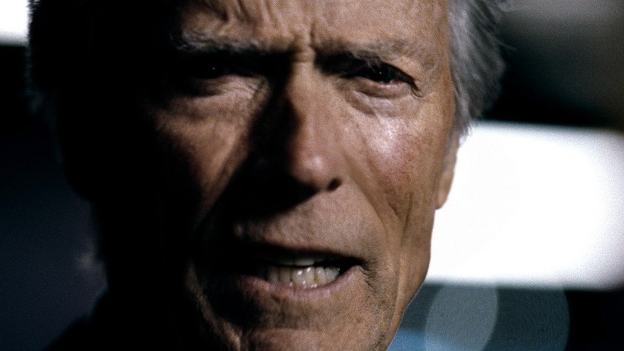 "Feb. 5:This advertisement provided by Chrysler Group LLC, shows actor Clint Eastwood, featured in an ad titled ""It's Halftime In America,"" which aired during Super Bowl XVLI."