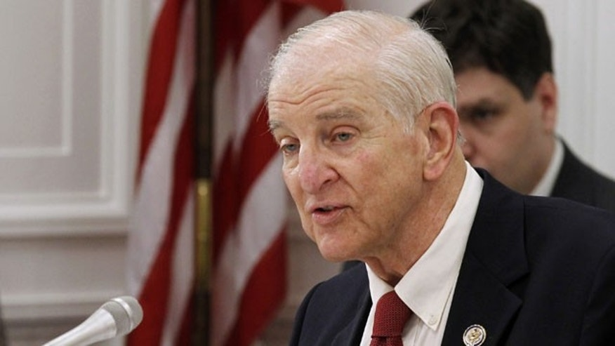 In this July 8, 2011 file photo, House Social Security subcommittee Chairman Rep. Sam Johnson, R-Texas presided over the subcommittee's hearing on Capitol Hill in Washington.