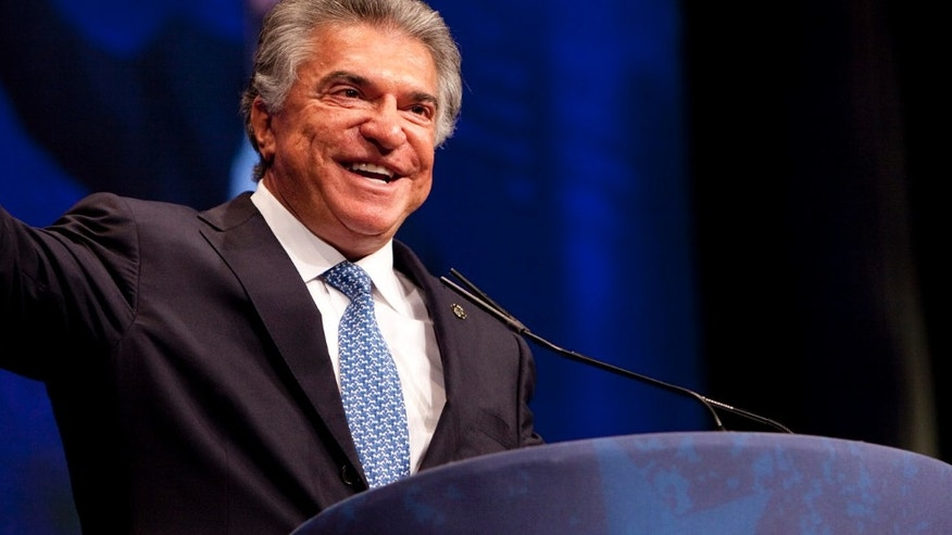 Chairman Al Cardenas during CPAC 2012, Conservative Political Action Conference in Washington, DC, Thursday, Feb. 9, 2012. (Photo by Eric Draper)