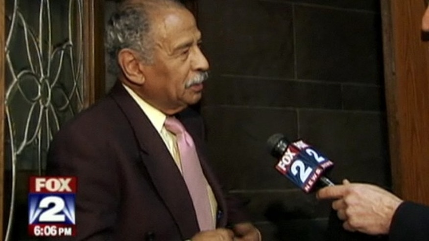Shown here is Michigan Rep. John Conyers.