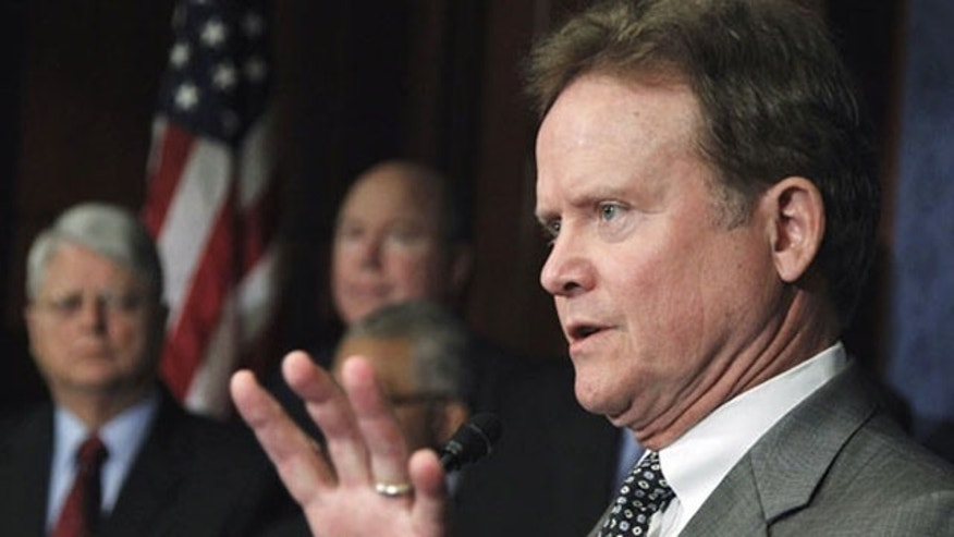 File: Undated: Former Virgina Democratic Sen. Jim Webb.