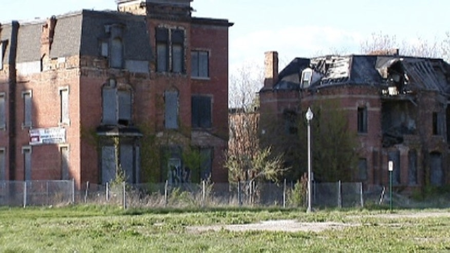 The recession and decline and government mismanagement have contributed to the crumbling of Detroit.