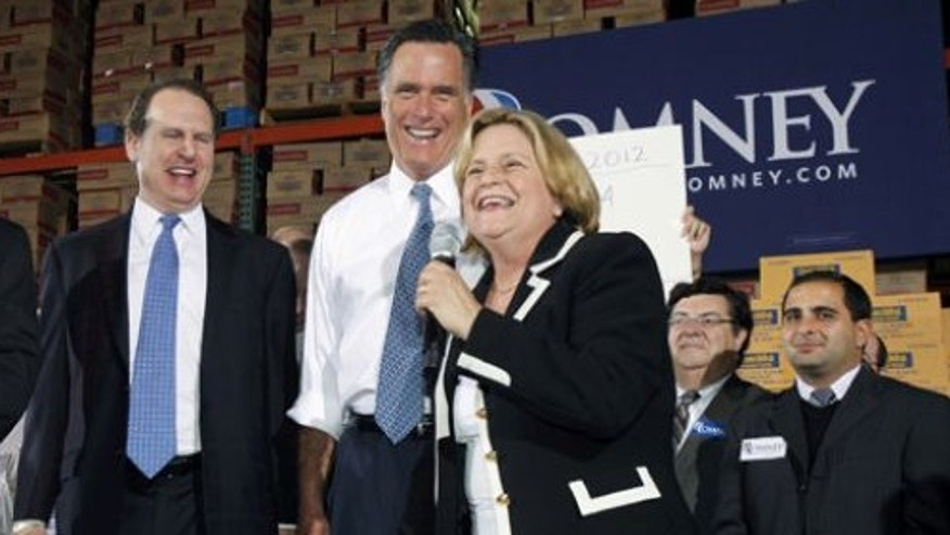 Mitt Romney shares the stage in November with influential Hispanic Republicans in Florida, Rep. Mario Diaz-Balart, former Florida Rep. Lincoln Diaz-Balart and Rep. Ileana Ros-Lehtinen. They helped the Republican presidential candidate secure a Florida victory.