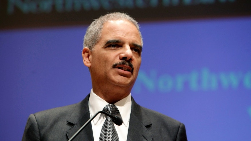 U.S. Attorney General Eric Holder. (Photo by John Gress/Getty Images)