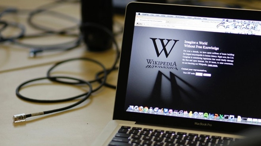 Jan. 18, 2012: A blackout landing page is displayed on a laptop computer screen to protest the SOPA legislation -- which some argue is returning under a new name.