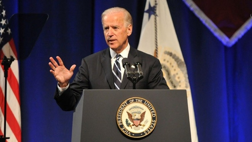 May 2, 2012: Vice President Joe Biden speaks at Lafayette College in Easton, Pa.