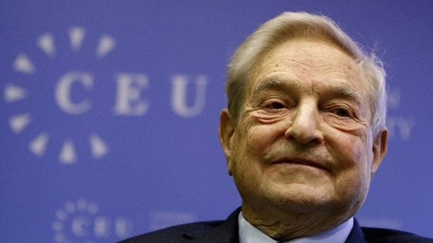 Nov. 3, 2011: George Soros smiles before a speech at the Central European University in Budapest.