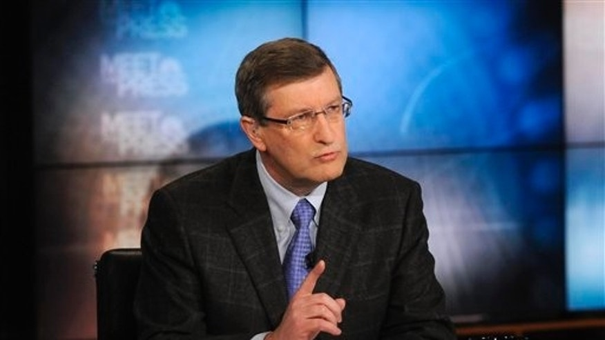 "April 24: Sen. Kent Conrad, D-N.D., appears on NBC's ""Meet the Press"" in Washington."