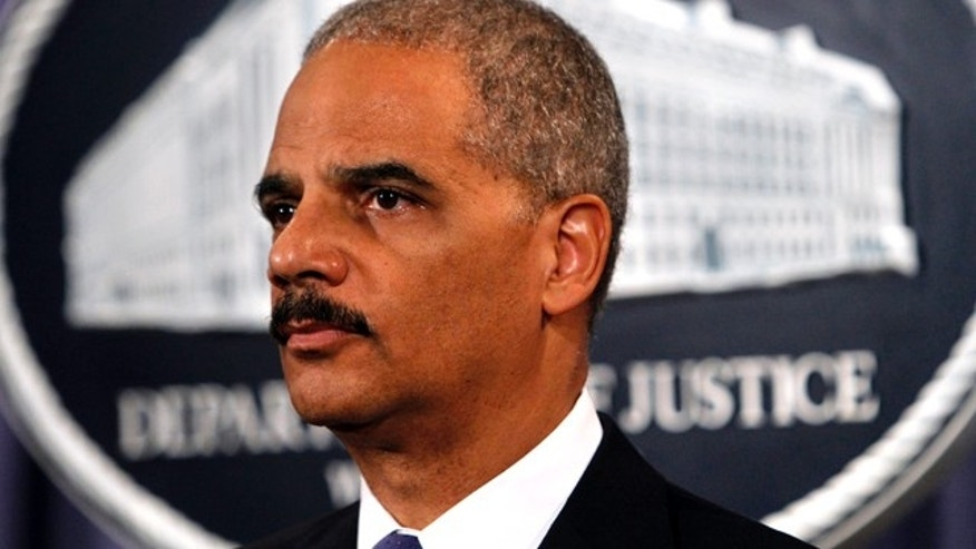 File: Sept. 7, 2011: Attorney General Eric Holder.